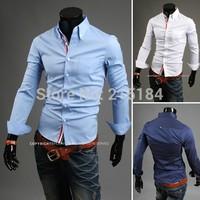 China imported clothes Men Shit Mens dress shirts camisas hombre Long Sleeve Black Men clothing styles camisas masculinas social
