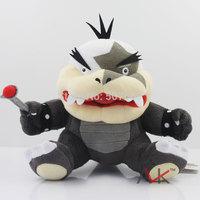 New Supermario plush toy Super Mario Bros doll plush stuffed Morton KOOPA plush 18cm