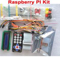 Raspberry PI Kit Breadboard 1603 LCD GPIO Adapter Cable LED  Sensor FZ0933