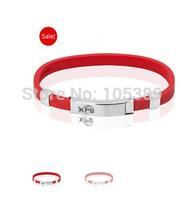 Free shipping 1pcs Xcellerated Performance Band ION Titanium Band Power Bracelet XPB bracelet