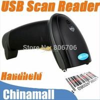 handheld laser Barcode Scanner  1D Laser bar code scanner USB scan code gun barcode scanner