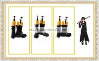 Free shipping Sword Art Online Cosplay Short Boots Kazuto Kirigaya Kirito Shoes as  Halloween Cosplay shoes