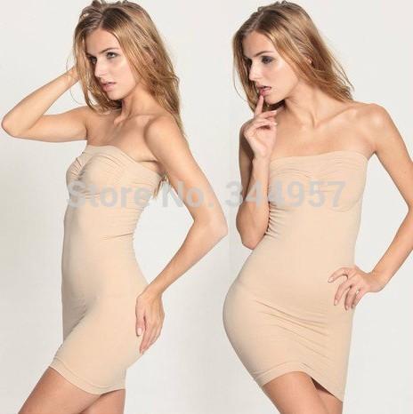 New Slim lift as seen on TV Magic Body Shaper Skinny Burn Fat Seamless Slimming Shapewear Bodysuits Dress(China (Mainland))