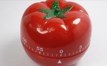 wholesale red kitchen clock