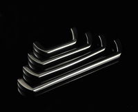 64mm Free shipping chrome color 304 stainless steel Furniture Handle Cabinet Handle Drawer Pull Handle