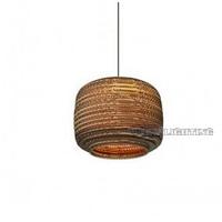 Corrugated Paper Pendant Light Creative Northern Europe IKEA Lampshade Luminaire E27 110-240V YSL-001J free shipping