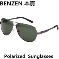 2014  Men sunglasses Polarized  Sun Glasses UV400  Avaitor Sun Glasses Oculos With Case Black 2082B