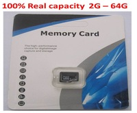 Real capacity Memory card 2GB 4GB 8GB 16GB 32GB 64GB micro sd card 64gb class 10 /memory card flash card