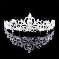 Wedding hair accessories crown wedding tiaras bridal hair jewelry wedding crown 2014 new fashion lucky hope beads 091