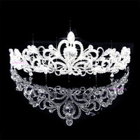Wedding hair accessories crown wedding tiaras bridal hair jewelry wedding crown 2014 new fashion lucky hope beads 091