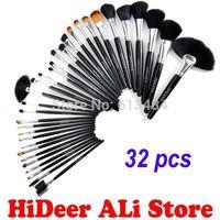 32 pcs Kits Pro Cosmetic Brushes Makeup Set Kit Make up Tool Brush Set Tools Make-up Brush Set Case