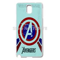Captain America's shield White Case Protector Cover For Samsung Galaxy Note 3 III + Screen Protrector