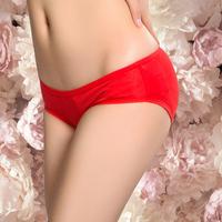 Panties female modal low-waist women's 100% cotton panties female cotton 100% ashima bamboo fibre briefs antibiotic