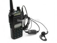 Free Shipping!Pofung UV-82 UHF+VHF Dual Band 5W Walkie Talkie Ham Two-way Radio FM Portable