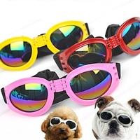 20pcs/lot Pet eyewear  Can folding Dog sun glasses Sunglasses for dogs Protective glasses pet Ornament