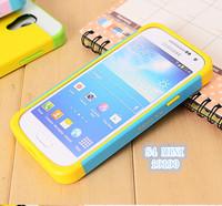 3in 1 Colorful Korean NX Silicone  Cover Case for Samsung Galaxy S4 mini i9190 free ship