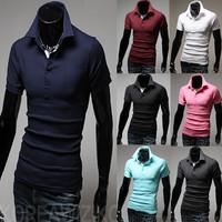 Hot sell 2014 summer new men's short sleeve T-shirt movement essential men's short sleeve T-shirt free shipping