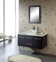 Black Wall Mount Bathroom Cabinet X-012