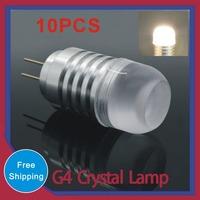 MOQ 10pcs G4 LED Lamps AC/DC 12V 3W 4W Crystal Corn Bulb Droplight Chandelier COB SMD 3020 Spot Light Cool/Warm White 360 degree