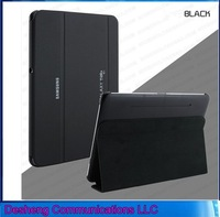 Business Style Smart Cover 3 Folding Stand PU Leather Case for Samsung Galaxy  tab 4 10.1 T530 case  Free Shipping+Stylus
