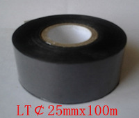 LT25mmx100m coding ribbon or stamping foil for plastic bag  paper  or paper carton