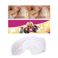 10pcs Bare Bring It Up Lifts Push Up Breast Bust Cleavage Shaper Invisible Tape Free SHipping M01027
