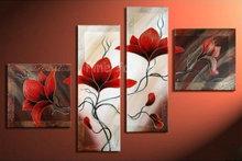 red artwork promotion
