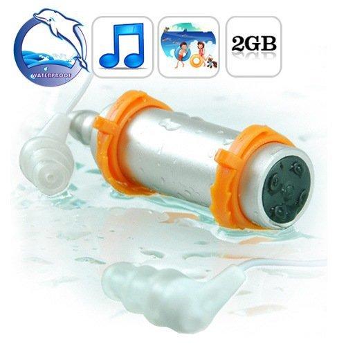 2 ГБ водонепроницаемый mp3-плеер FM радио для водных ...