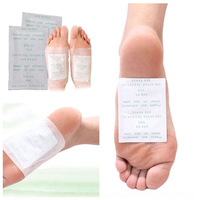 15 pairs 30 pcs/lot free shipping wholesale NEW KINOKI detox foot pads foot patch gold color detox patch foot care tool #M01028