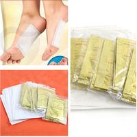 10 PCS GOLD Premium Kinoki Detox Foot Pads Organic Herbal Cleansing Patches Free Shipping #M01024