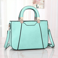 Free Shipping Big/Small Size Bags PU Leather Women Satchel Clutch Handbag Shoulder Tote Sling Bag