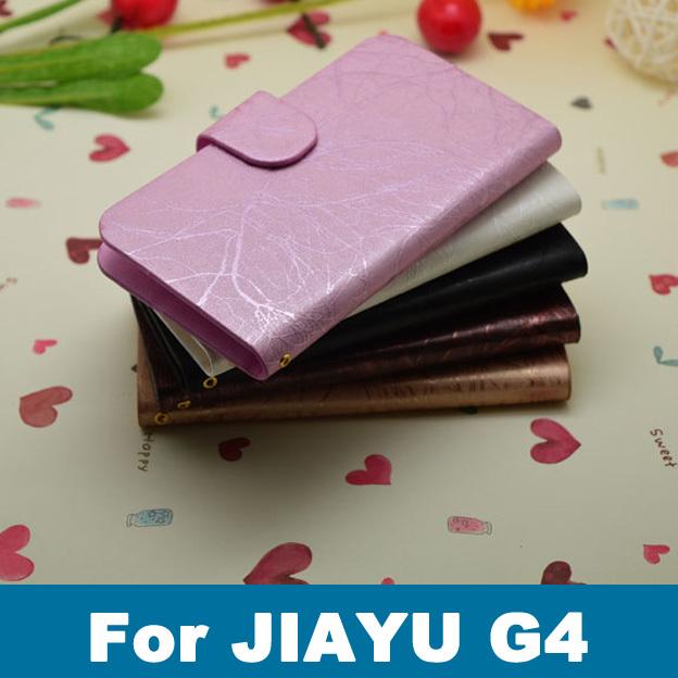 Case para Jiayu G4 caso de telefone celular bolsa de sacos de luxo de alta qualidade PU capa de couro do telefone móvel holster + Free SCREEN PROTECTOR(China (Mainland))