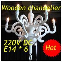 white black  D900mm  Moooi Paper lustre wooden Chandelier Pendant Lamp,6 E14 bulbs indoor lighting