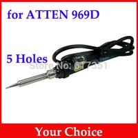 Original ATTEN 969 Solder Iron Handle fit for ATTEN 969D 5 Holes