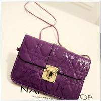 2014 new arrival women fashion mini cross-body bag messenger bag women's leather mobile phone bag small