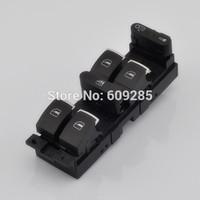 OEM Chrome Master Window Power Switch For VW Golf Gti Jetta MK4 Passat B5 Bora