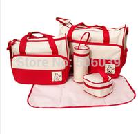 free shipping  multifunctional Mama bag Huayao cloth diaper bag mummy bag
