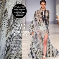 Sexy Gradient Silk Chiffon Fabric  140CM*100CM  6Mommie