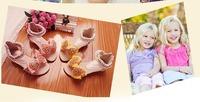 Korean pearl diamond small high-heeled fashion girls sandals kids shoes