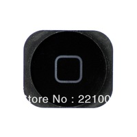 Wholesale External Home Button (White /Black ) for iPhone 5   50pcs/lot
