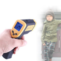 Free shipping Non-Contact IR Laser Infrared Digital Thermometer DT 8380