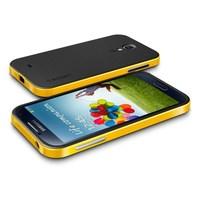 New 2014 Brand SPIGEN SGP NEO Hybrid Slim Armor Hard Back Cover TPU Case + Plastic frame For Samsung Galaxy S4 SIV i9500