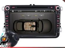 8 Inch Dash DVD Player GPS Camera 4 Skoda Octavia Fabia Limousine Combi Patrick(China (Mainland))