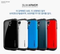 Korean Style SGP Case for Samsung Galaxy S4 i9500 Tough Armor Neo Hybird SPIGEN Slim Hard Back Cover 7 Colors