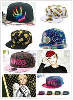 South Korea fashion QuanZhi Long Pingyan cap Hip-hop cap slide cap The streets of hats for men and women
