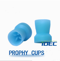 Free shipping 100PCS Disposable Prophy Cups Snap-on type Plain polishing cup  PC320
