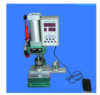 freeshipping high quality pneumatic button press machine DIY badge machine