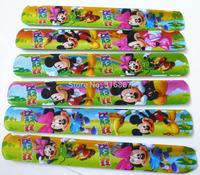 hot sell !! 2014 popular MIXED COLORS  Mouse Magic Ruler Slap Band Bracelets / bangles