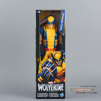 "Free Shipping Marvel Super Hero X-men Wolverine PVC Action Figure Collectible Toy 12""30CM HRFG184"