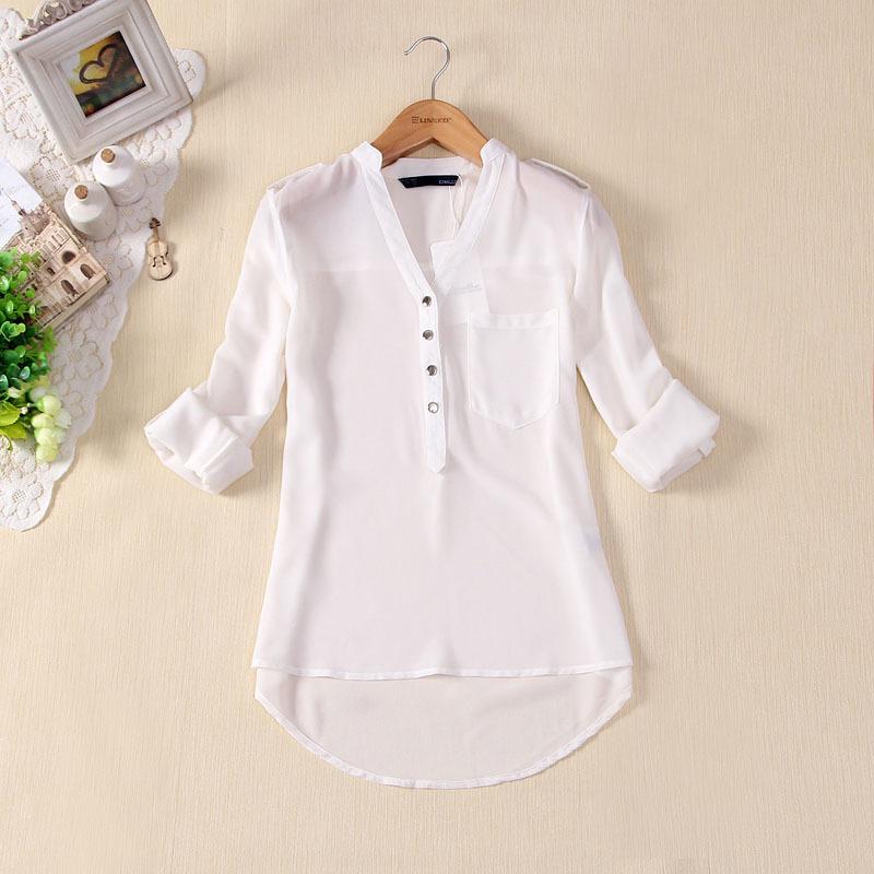 2014 Chiffon verão top ar condicionado camisas protetor solar outerwear solto plus size blusas camisas(China (Mainland))